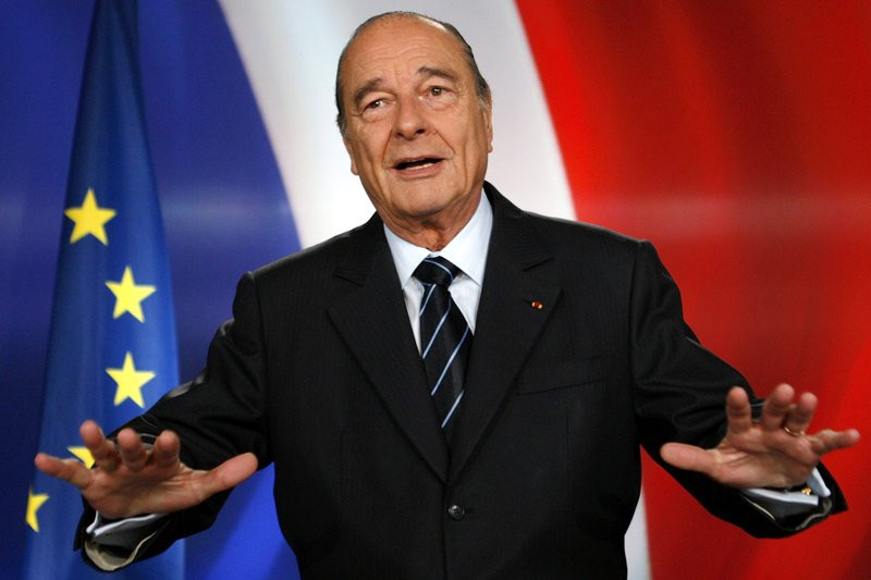 Ex-French President Chirac dies at 86