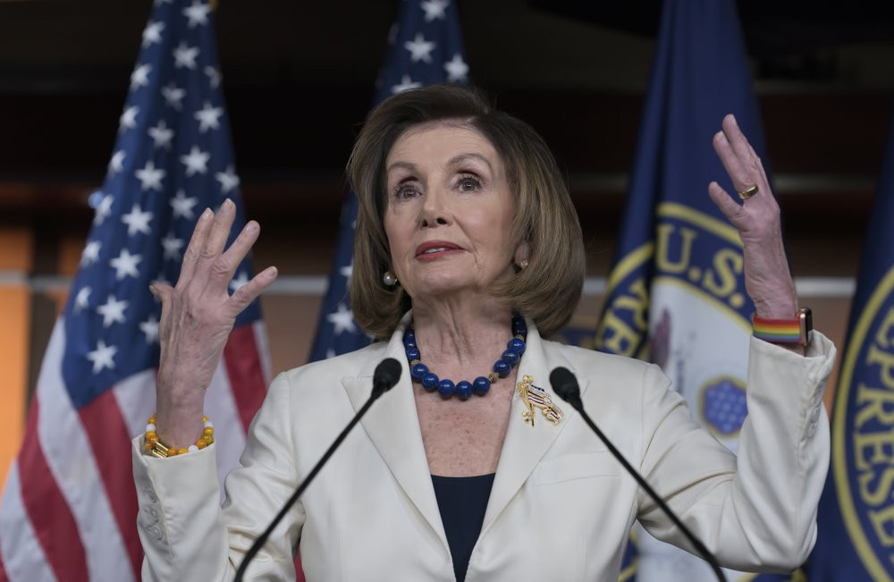 US House Speaker Nancy Pelosi