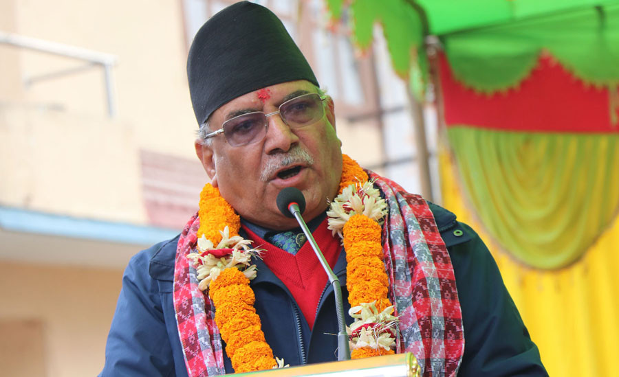 NCP Chair Dahal warns repetition of world communist history in Nepal