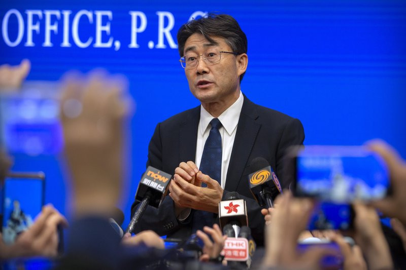 Gao Fu, the head of the Chinese Center for Disease Control and Prevention (China CDC).