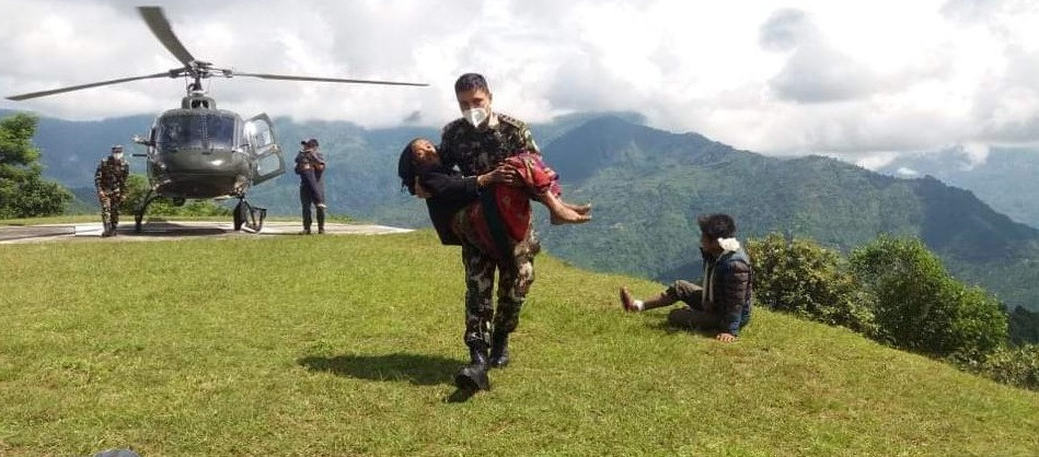 Photo Courtesy: Nepal Army