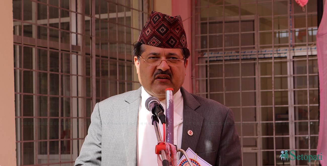 Attorney General Agni Kharel