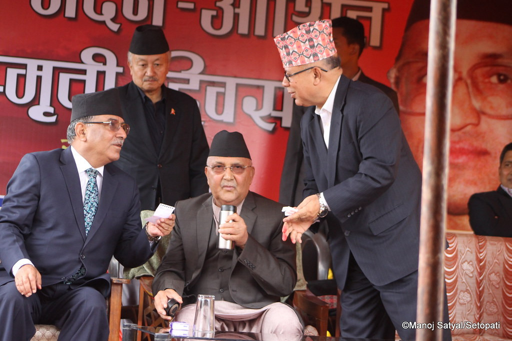 Dahal-Nepal faction of CPN has 87 HoR members, Oli 83