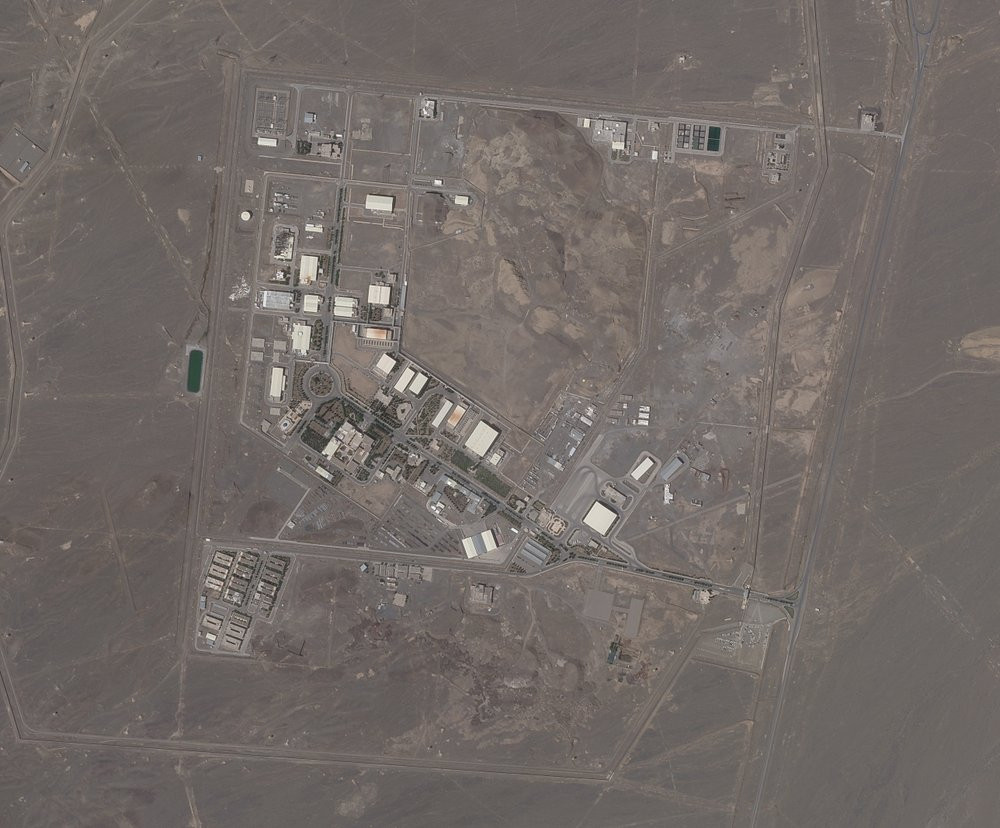 This satellite photo provided from Planet Labs Inc. shows Iran's Natanz nuclear facility on Wednesday, April 14, 2021.