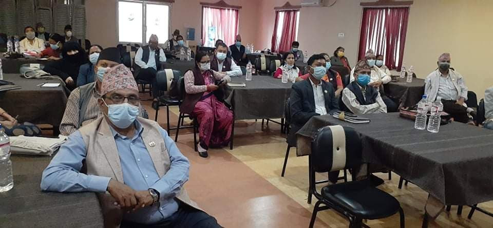 UML lawmakers during the parliamenatry party meeting on Sunday.