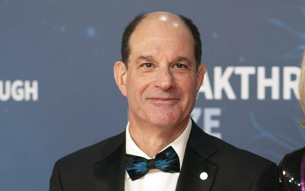 In this Sunday, Nov, 3, 2019 file photo, 2020 Breakthrough Prize in Life Sciences winner David Julius poses at the 8th Annual Breakthrough Prize Ceremony at NASA Ames Research Center on Sunday, Nov. 3, 2019.
