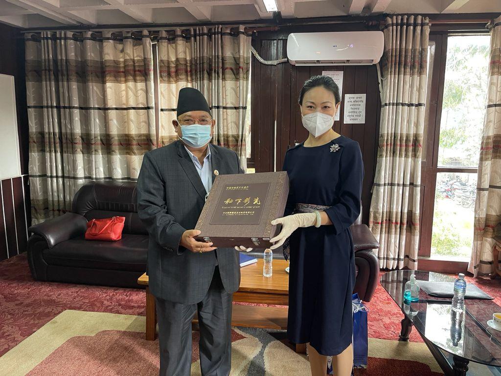 Photo Courtesy: State Minister Shrestha/Twitter