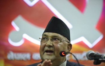 Govt busy building corruption-free and prosperous Nepal: PM Oli