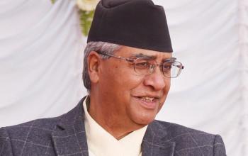 Deuba calls meeting to resolve intra-party dispute