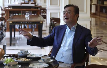 Huawei's founder Ren Zhengfei