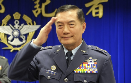 Taiwanese top military official Shen Yi-ming