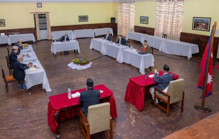 File Photo of CPN secretariat meeting.