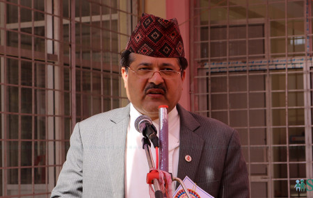 Attorney General Agni Kharel