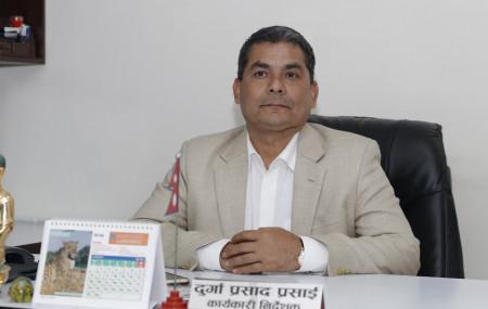 Promoter of the proposed B&C Medical College of Jhapa Durga Prasai has threatened media coordinator of Dr Govinda KC Campaign Pritam Subedi of physical assault.