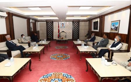 Photo Courtesy: PM Deuba's secretariat