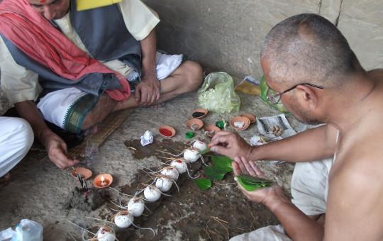 Representative photo of Hindu mourning rites. Photo Courtesy: harikrishnamurthy.wordpress.com