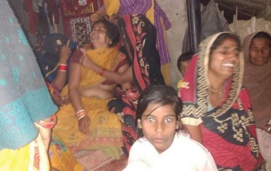Family of missing girls.