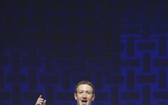 In this Nov. 19, 2016, file photo, Mark Zuckerberg, chairman and CEO of Facebook, speaks at the CEO summit during the annual Asia Pacific Economic Cooperation (APEC) forum in Lima, Peru.